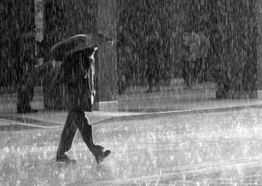 Prevista pioggia in città. E da settimana prossima si va sotto lo 0
