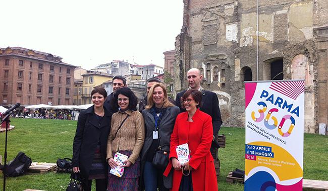 Parma 360: si parte! Il 5 maggio, in città, Pistoletto