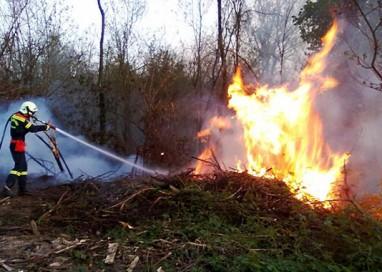 Boschetto: 70enne brucia 24ettari di bosco mentre bruciava sterpaglie