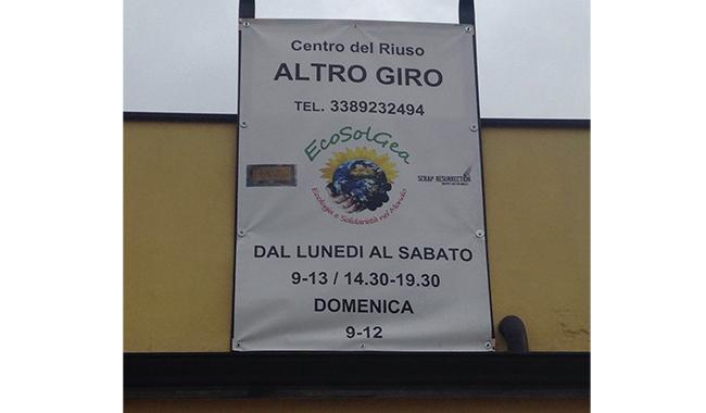 """""""Altrogiro"""": apre il Centro del Riuso di via Lazio"""