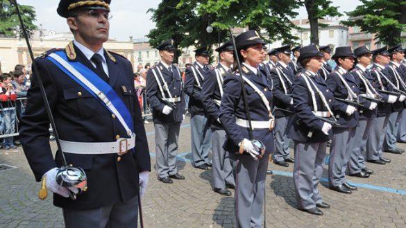 CELEBRATO IL 164° ANNIVERSARIO DELLA  FONDAZIONE DELLA POLIZIA DI PARMA
