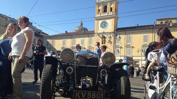Mille Miglia 2016: la tappa a Parma