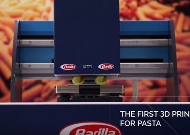 Barilla a Cibus presenta la Pasta 3D