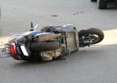 Incidente in via Toscana tra un'auto e una moto