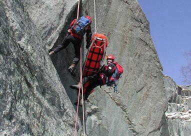 Salvato l'escursionista scivolato sul Monte Maggiorasca