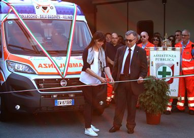 Gallery. Inaugurate due nuove ambulanze per l'Assistenza Volontaria