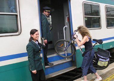 Perché non inserire lo spazio per le biciclette sui treni?