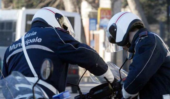 Incidente tra viale Osacca e via 7 Martiri