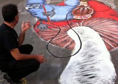 "STREET ART E SHOPPING IN GHIAIA. IL 5 TORNA ""CREARTISTIKA"""