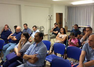 Ghiretti e Dall'Olio in dialogo con i residenti del Pablo
