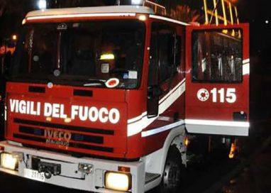 Incidente e incendio: pomeriggio nero a Medesano