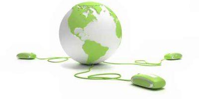 green web globe link 3