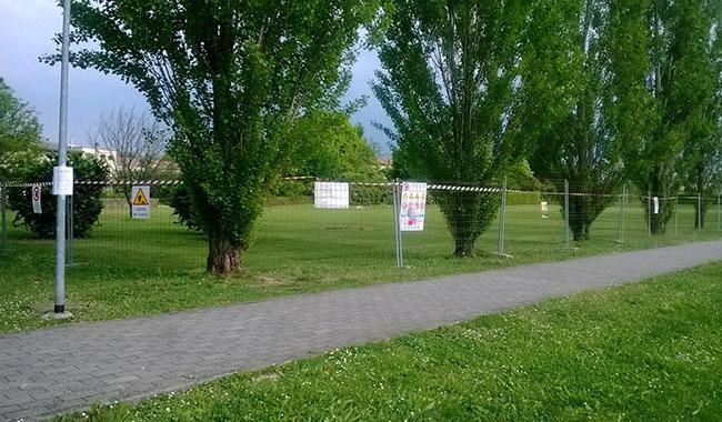 Campo Montebello. Il Comune predispone correttivi all'opera