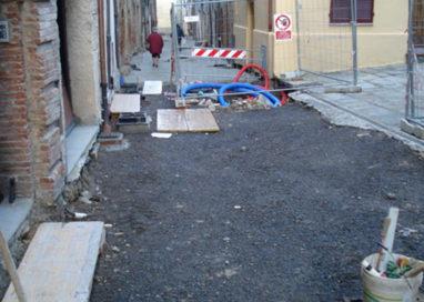 Ad agosto, lavori in borgo Tommasini e via Longhi
