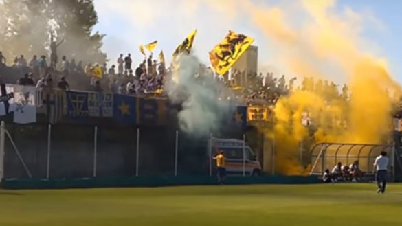 4-0 per il Parma Calcio nella partita dimostrativa contro il Ravanetti