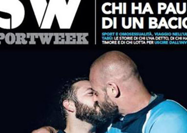 IL BACIO DEI RUGBISTI GAY: INNOVATION AWARD 2016 A LAMPI