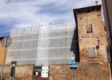 Palazzo Arzaghi ripulito e rimesso in sicurezza