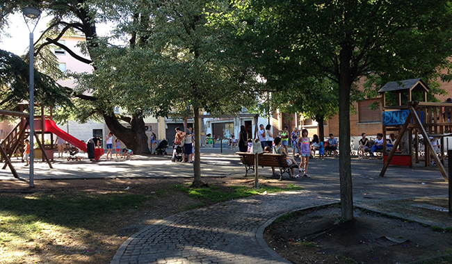 Parco Matteotti  Via Alla Riqualificazione Dal 18 Luglio