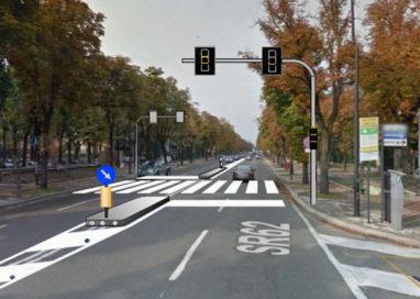 Nuovi semafori sullo Stradone e in via Calatafimi