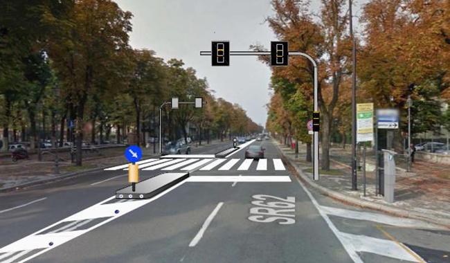 Un nuovo semaforo sullo Stradone, polemiche e disagi alla circolazione