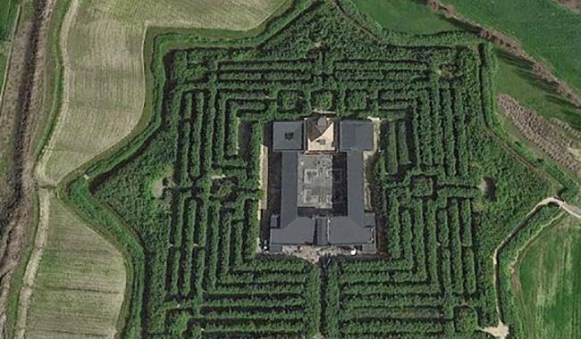 Il Labirinto della Masone tra i 5 più suggestivi d'Italia