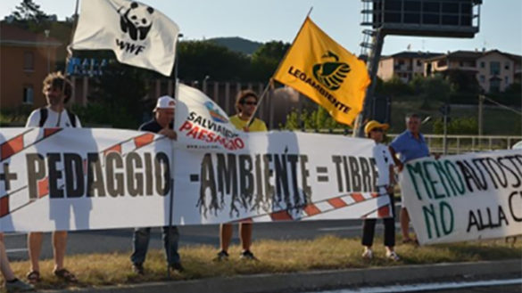 TI-Bre. Le associazioni ambientaliste contro l'avvio dei lavori