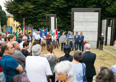 Commemorazione Barricate. La cerimonia in P.zzale rondani
