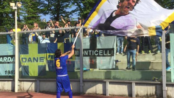 "Parma Calcio. Capitan Lucarelli ""calciatore bandiera"""