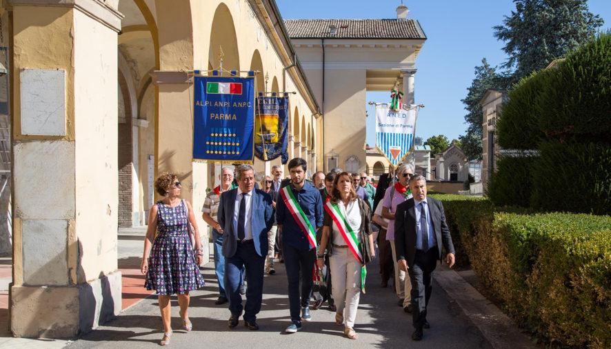 Parma ha ricordato il Sen. Ferrari al cimitero della Villetta