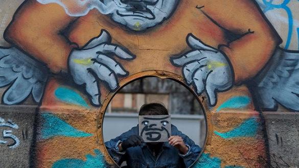 PARMAYOUNG. RISE, LO STREET ARTIST CHE LOTTA CONTRO IL VUOTO