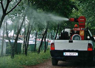 Virus dengue. 3 notti di disinfestazione in viale Tanara