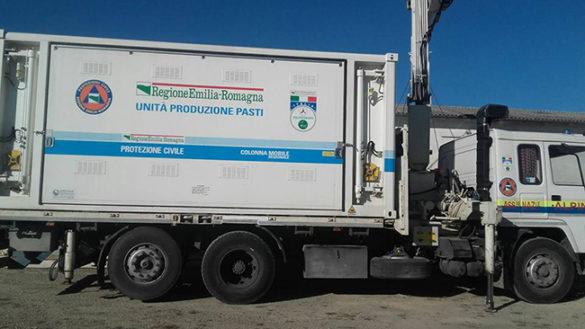 Sisma. Dall'Emilia 192 volontari per allestire i campi d'accoglienza