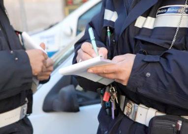 Attività di controllo nelle strade. 60 le sanzioni elevate
