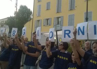 Attivisti 5 Stelle a Formigine: contestazione a Di Maio