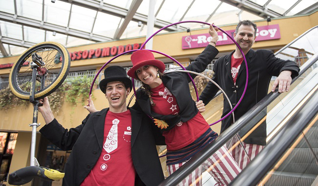 BARILLA CENTER: DAL 24 SETTEMBRE TORNANO I CIRCUS DAYS