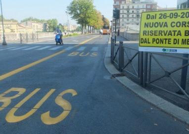 Lungo Parma: Ecco le corsie preferenziali, ma non ci sono i bus…