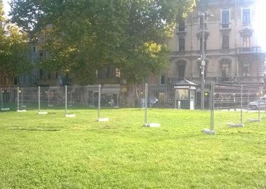 Piazza della Pace: Manifattura Urbana mette le reti da cantiere
