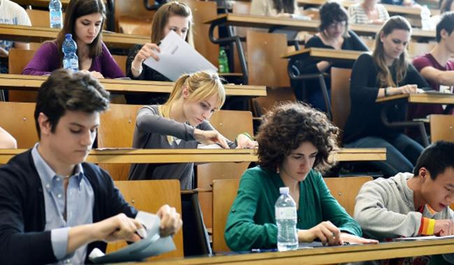 Il 6 settembre iniziano i test d'ammissione all'Università