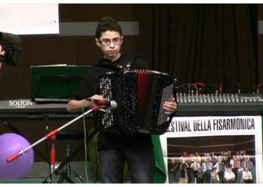 Daniele Carabetta è campione mondiale di fisarmonica