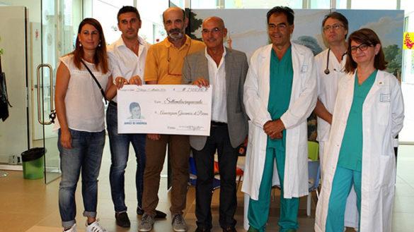 Ospedale dei Bambini: donati 7mila euro a Giocamico