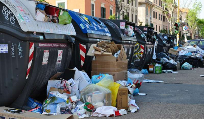 M5S: strategia rifiuti da Roma a Parma, passando per Torino