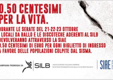 Da SILB e SIAE:  0.5 euro per ogni biglietto staccato nel weekend