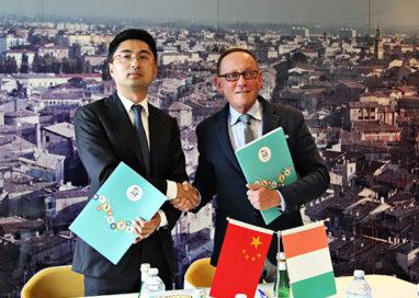 Siglato l'accordo fra Gesin Proges e la società cinese Maylink