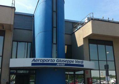 "Pizzarotti: ""L'aeroporto Verdi deve rilanciarsi"""