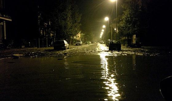 Alluvione 2014: il ricordo di una notte di paura