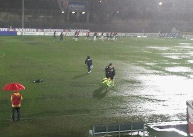Troppe piogge, sabato chiusi i campi da calcio comunali