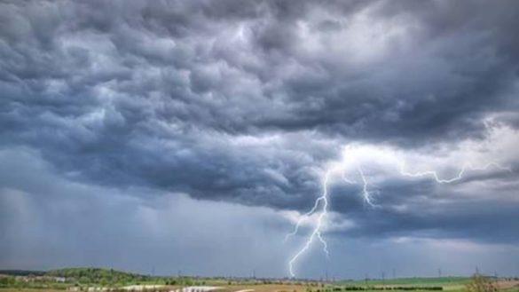 Allerta gialla per temporali: stimati 30-50 mm di pioggia in tre ore