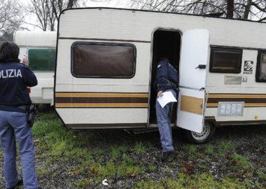 Sgomberati accampamenti nomadi a Fontevivo e Fidenza