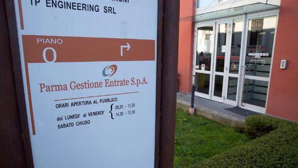 Parma Gestione Entrate trasloca, riapertura dopo Pasqua