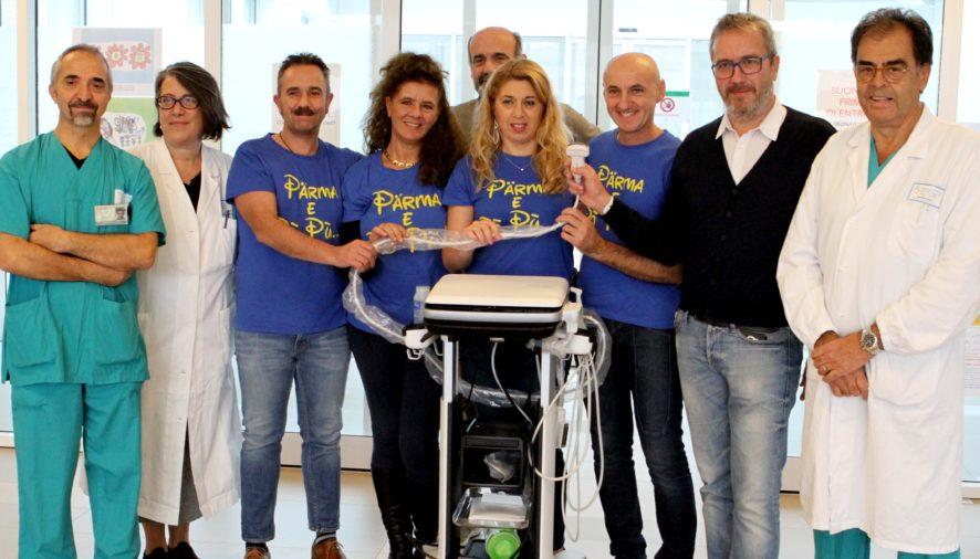 Donata una sonda mobile salvavita all'Ospedale dei Bambini